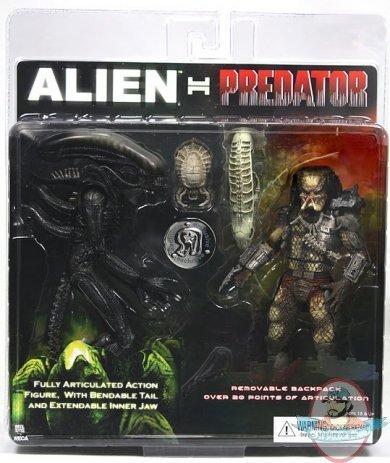 Alien VS. Predator NECA Exclusive Action Figure 2 Pack Alien Vs. Predator (Predator 2 Action Figure compare prices)