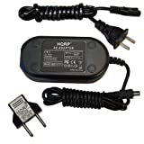 HQRP AC Adapter for NIKON EH-67 fits COOLPIX L100 L110 L120 L310 L810 L820 L830 S830 Digital Camera Power Supply Cord 25803 VEB-006-EA EH67 + Euro Plug Adapter thumbnail