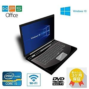 高速Core i5 /メモリ4GB/HDD 250GB/15.6インチ/DVDマルチドライブ/無線LAN