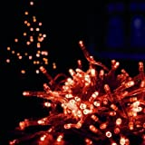 Premier 100 LED Supabrights Red Christmas Lights for Indoor / Outdoor Use, LV102637R