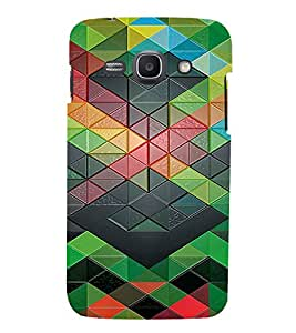 PrintVisa Geometrical Pattern 3D Hard Polycarbonate Designer Back Case Cover for Samsung Galaxy Ace 3