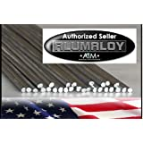 ALUMALOY 1 lb Pound: Aluminum REPAIR Rods No Welding Fix Cracks Drill Tap Polish or Paint