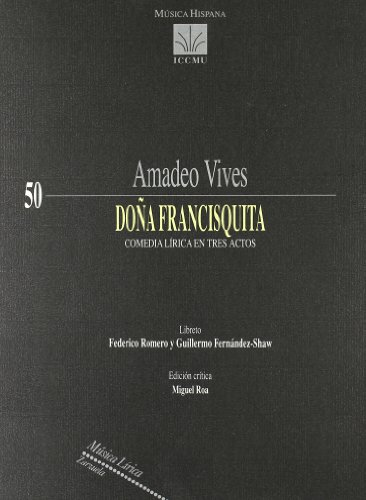 Doña francisquita - Amadeo Vives - Libro