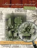img - for American History Firsthand: Working with Primary Sources, Vol. 1, 2nd Edition book / textbook / text book