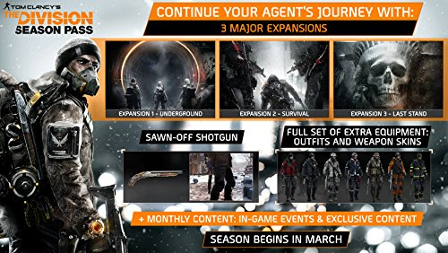 Tom Clancy's The Division Season Pass Uplay Code screenshot