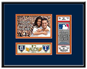 2011 ALCS Your 4x6 Photo Ticket Frame - Detroit Tigers by Thats My Ticket