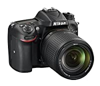 Nikon D7200 24.2 MP Digital SLR Camera (Black) with AF-S 18-140mm VR Kit Lens and 8GB Card, Camera Bag