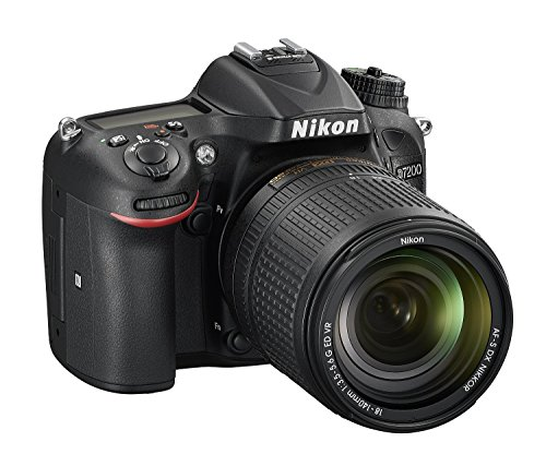Nikon D7200 24.2 MP DX-format Digital SLR Camera Body Only with Wi-Fi and NFC (Black) (Certified Refurbished)