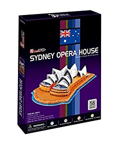 CubicFun 3D Puzzle C-Series Sydney Opera house