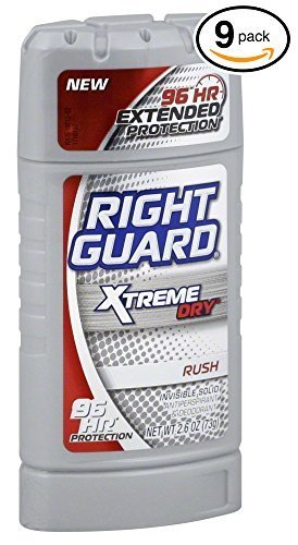 pack-of-9-bottles-right-guard-xtreme-dry-rush-mens-stick-deodorant-antiperspirant-96-hour-protection