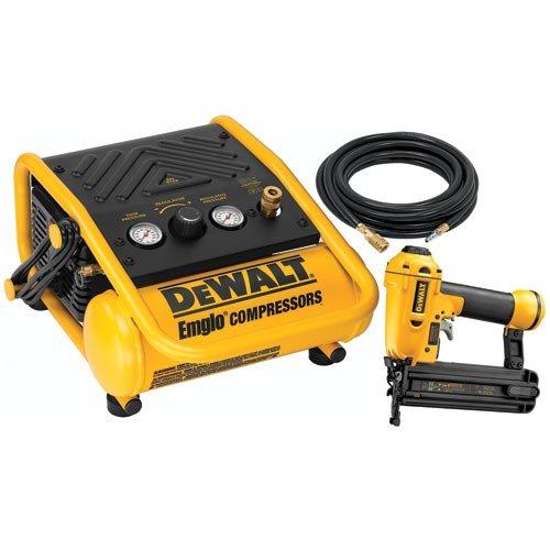 Gt Dewalt D55140bn 2 Inch Brad Nailer 1 Gallon Compressor