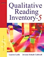Qualitative Reading Inventory-5 [With DVD]QUALITATIVE READING INVENTORY-5 [WITH DVD] by Leslie, Lauren (Author) on Feb-01-2010 Paperback