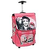 Disney Violetta Trolley Backpack with Ear Warmers + Headphones