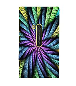 ABSTRACT INTERTWINED ROPES PATTERN 3D Hard Polycarbonate Designer Back Case Cover for Nokia Lumia 920 :: Microsoft Lumia 920