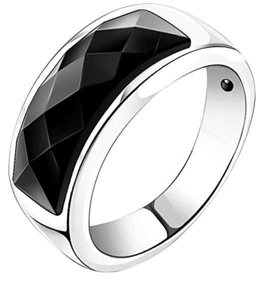 Generic Women's Silver Wide Wedding Ring
