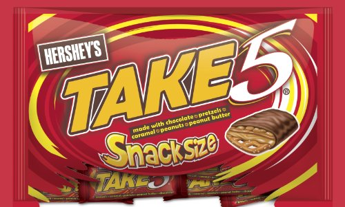 Take Five Snack Size Bars, 11.25-Ounce Packages (Pack of 6)
