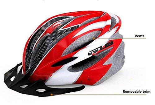 Rainbow flower Men and women riding mountain bike helmet Integrally molded road bike helmet spring and autumn