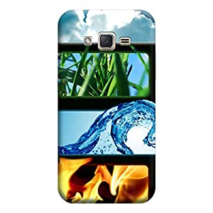Ebby Premium Printed Mobile Back Case Cover With Full protection For Samsung J3 (Designer Case)