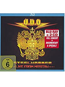 Steelhammer - Live From Moscow (double CD+bluray edition)