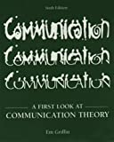 img - for A First Look at Communication Theory by Em Griffin (2005-07-03) book / textbook / text book