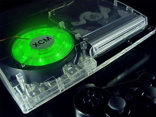 Xcm Led Fan For Ps3 Slim - Green