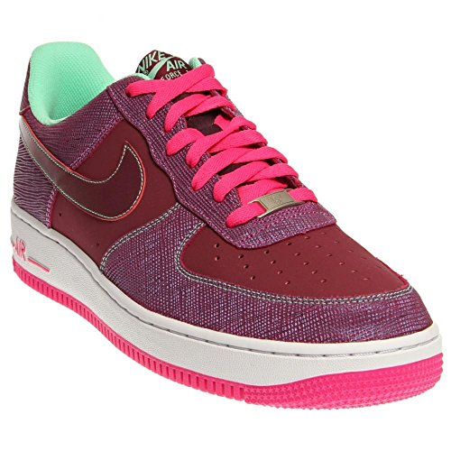 Nike Air Force 1 Cherrywood Mens (488298 614) Red Green Pink