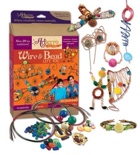 Artterro Wire and Bead Art Kit