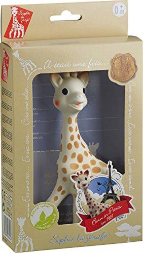 Sophie la Girafe 616324 - Juguete con caja regalo, 100% caucho natural