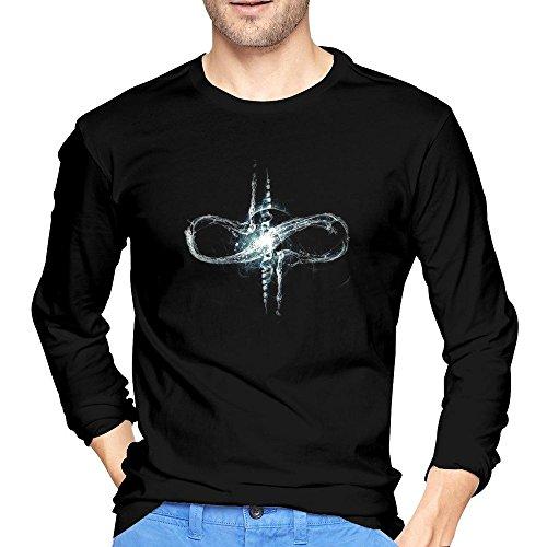 Arnoldo Blacksjd HEDONE Men's Devin Townsend Project Logo T-Shirts X-Large