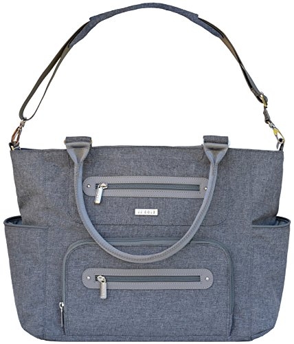 jj cole caprice diaper bag gray heather luggage bags bags. Black Bedroom Furniture Sets. Home Design Ideas
