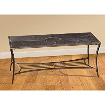 Hillsdale Furniture Wesson Pewter Coffee Table