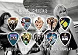 Dixie Chicks Premium Celluloid Guitar Picks Display A5 Sized