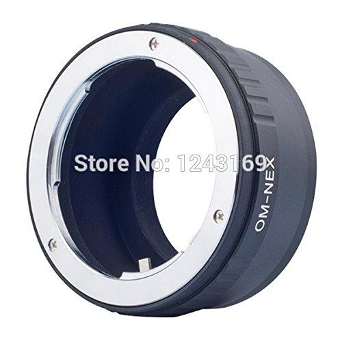 Bioings (TM)-Anello adattatore per obiettivo Olympus Zuiko a OM fotocamera Sony NEX-3C NEX-5 NEX-5, NEX-VG10 DC115