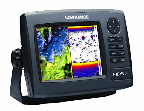 Lowrance HDS-7 GEN2 Plotter/Sounder, with 6.4-inch LCD and Insight USA Cartography. Transducer Not Included.