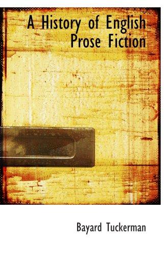 Una historia de ficción de la prosa inglesa