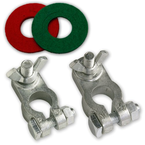 NOCO TZKIT2 Lead-Free Marine Zinc Battery Terminal Kit