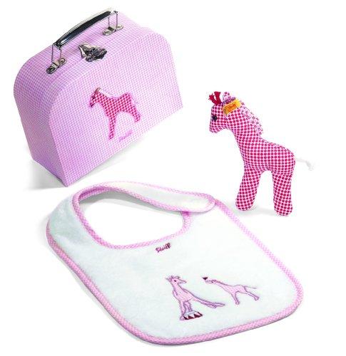 Steiff Steiff«S Little Circus Giraffe Gift Set In Suitcase Small, W Baby Plush front-999418