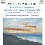 Vaughan Williams: Fantasias / Norfolk Rhapsody / In The Fen Country / Concerto Grosso