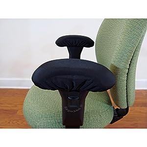memory foam office chair arm pad armrest covers 2 piece set furniture decor. Black Bedroom Furniture Sets. Home Design Ideas