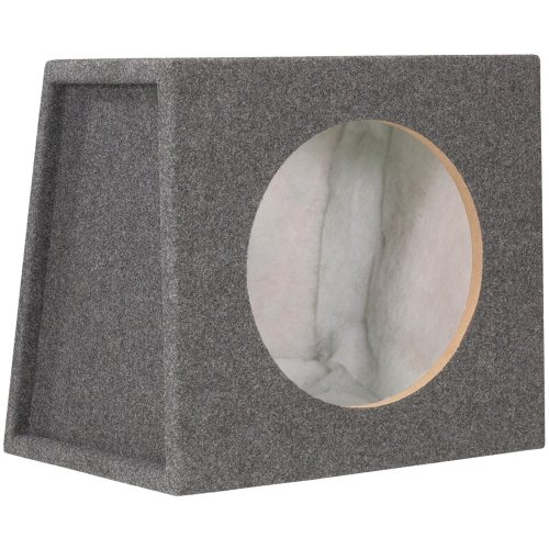 Scosche Se12Cc 12-Inch Single Subwoofer Enclosure (Grey/Black)