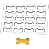 Production Cookie Cutting Sheet: Dog Bone