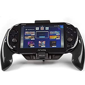 KELUX PS Vita Slim Controller Hand Grip (PS Vita Slim/PS Vita 2000) - Black