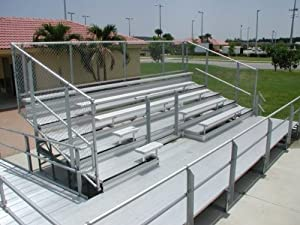Trigon Sports Bl833el 8 Row 33 Ft Elevated Bleacher from Trigon Sports