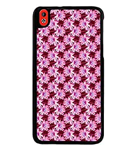 Vizagbeats Flower Patttern Back Case Cover for HTC DESIRE 816