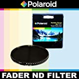 Polaroid Optics Variable Range (ND3, ND6, ND9, ND16, ND32, ND400) Neutral Density (ND) Fader Filter - 6 Filters in 1! For The Nikon 1 J1, J2, J3, V1, V2, S1 Digital SLR Cameras Which Have Any Of These (10-100mm) Nikon 1 Lenses