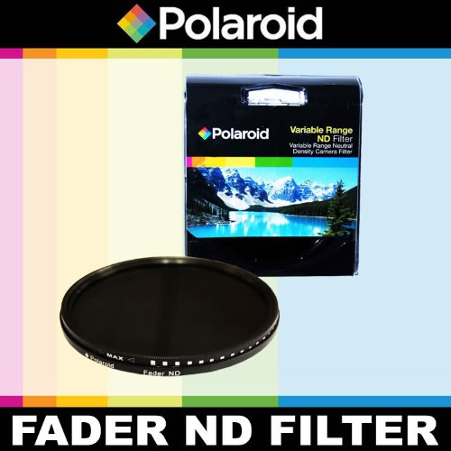 Polaroid Optics Variable Range (ND3, ND6, ND9, ND16, ND32, ND400) Neutral Density (ND) Fader Filter - 6 Filters in 1! For The Sony NEX-VG10, NEX-VG20 Handyman Camcorder With 18-200mm Lens