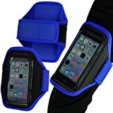 Tigerbox Premium Neoprene Sports Armband Mobile Phone Holder For Nokia Lumia 920 - Blue