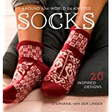 Around The World In Knitted Socksby Stephanie Van Der Linden