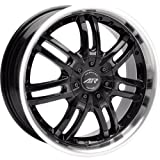 "American Racing Haze AR363 Gloss Black Wheel with Machined Lip (16x7""/5x115mm)"