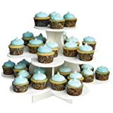 3-tier Flower-shaped Dessert Stand Is Ideal for Parties, Holidays, Weddings, and Other Get-togethers